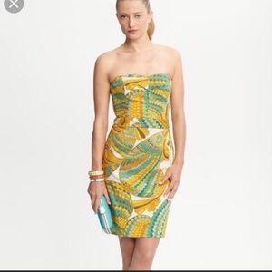 Trina Turk/Banana Republic Strapless Pisces Dress